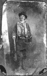 Billy the Kid, tintype ca. 1878, POG#128785